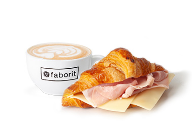 PACK CROISSANT MIXTO & HOT DRINK (5 PERSONAS)